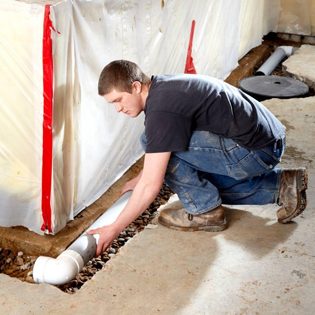 waterproofing a basement in Bourbonnais, IL