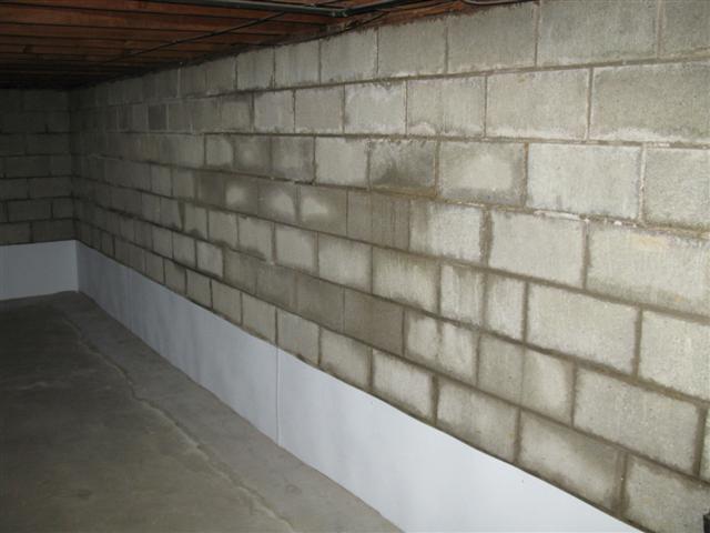 basement in need of waterproofing