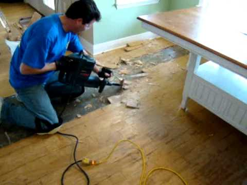 Wood Flooring Demolition