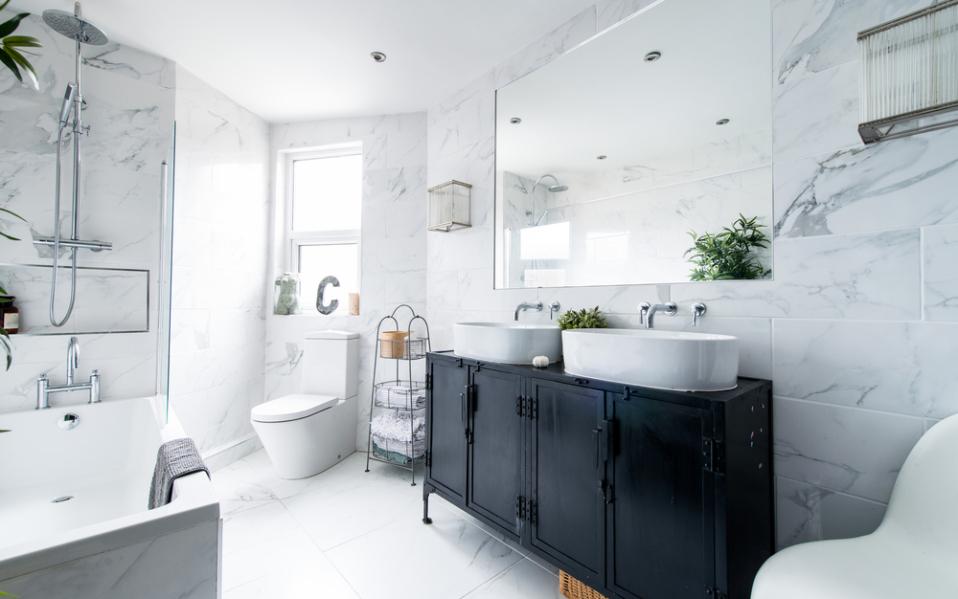 Sacramento bathroom remodel