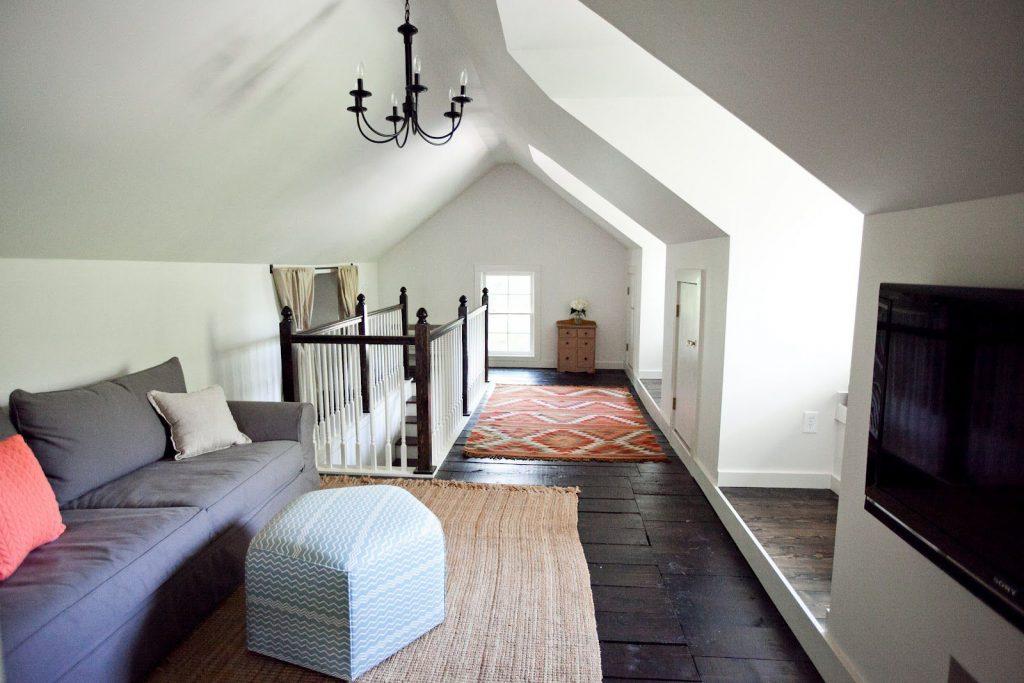 attic remodel in California