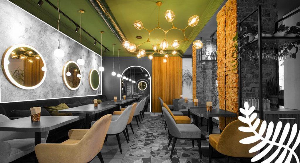decor for food service design