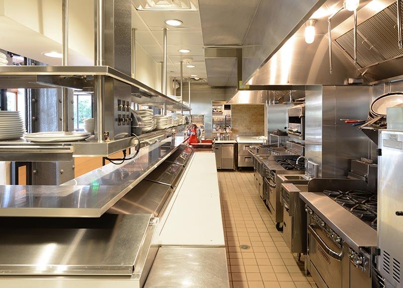 workstations for kitchen equipment