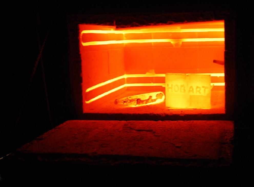 furnace for heat treating