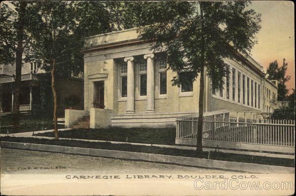 Carnegie Library Boulder, CO