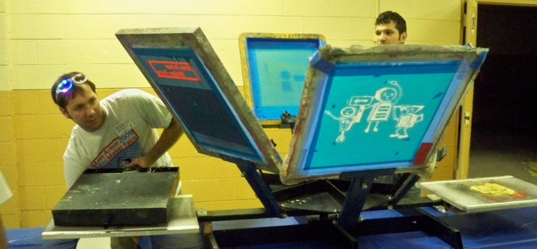 How Screen Printing Works